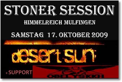 Flyer Stoner Session + Support Logo ohne Bild